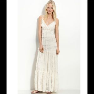 Willow & Clay lace maxi dress